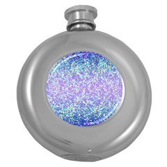 Glitter2 Hip Flask (round) by MedusArt