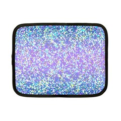Glitter2 Netbook Sleeve (small) by MedusArt