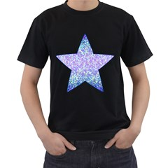 Glitter2 Men s T Shirt (black)
