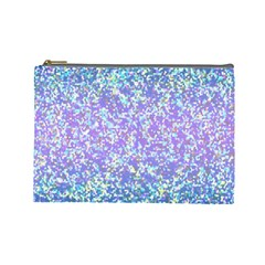 Glitter2 Cosmetic Bag (large) by MedusArt