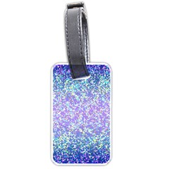 Glitter2 Luggage Tag (one Side) by MedusArt