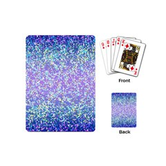 Glitter2 Playing Cards (mini) by MedusArt