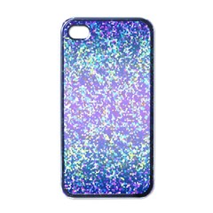 Glitter2 Apple Iphone 4 Case (black) by MedusArt
