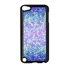 Glitter2 Apple Ipod Touch 5 Case (black) by MedusArt