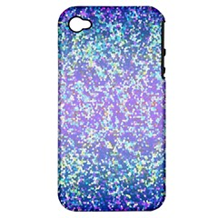 Glitter2 Apple Iphone 4/4s Hardshell Case (pc+silicone)
