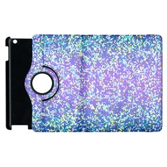 Glitter2 Apple Ipad 3/4 Flip 360 Case by MedusArt