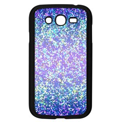 Glitter2 Samsung Galaxy Grand Duos I9082 Case (black) by MedusArt