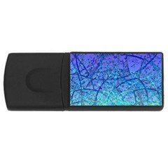 Grunge Art Abstract G57 Usb Flash Drive Rectangular (4 Gb) by MedusArt