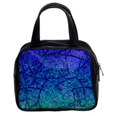 Grunge Art Abstract G57 Classic Handbag (two Sides) by MedusArt