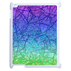 Grunge Art Abstract G57 Apple Ipad 2 Case (white) by MedusArt