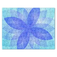 Abstract Lotus Flower 1 Jigsaw Puzzle (rectangle) by MedusArt