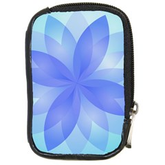 Abstract Lotus Flower 1 Compact Camera Leather Case by MedusArt