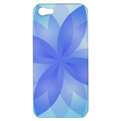 Abstract Lotus Flower 1 Apple Iphone 5 Hardshell Case by MedusArt