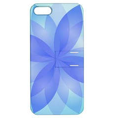 Abstract Lotus Flower 1 Apple Iphone 5 Hardshell Case With Stand by MedusArt