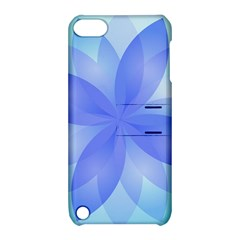 Abstract Lotus Flower 1 Apple Ipod Touch 5 Hardshell Case With Stand by MedusArt
