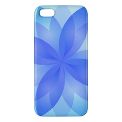 Abstract Lotus Flower 1 Iphone 5 Premium Hardshell Case by MedusArt