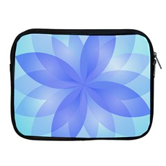 Abstract Lotus Flower 1 Apple Ipad Zippered Sleeve by MedusArt