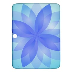 Abstract Lotus Flower 1 Samsung Galaxy Tab 3 (10 1 ) P5200 Hardshell Case  by MedusArt