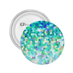 Mosaic Sparkley 1 2 25  Button by MedusArt
