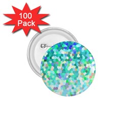Mosaic Sparkley 1 1 75  Button (100 Pack) by MedusArt