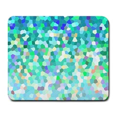Mosaic Sparkley 1 Large Mouse Pad (rectangle) by MedusArt