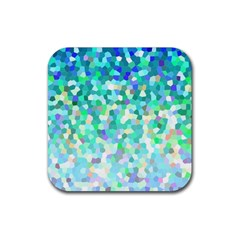 Mosaic Sparkley 1 Drink Coaster (square) by MedusArt