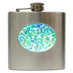 Mosaic Sparkley 1 Hip Flask by MedusArt