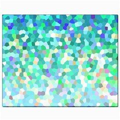 Mosaic Sparkley 1 Canvas 8  X 10  (unframed) by MedusArt