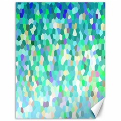 Mosaic Sparkley 1 Canvas 12  X 16  (unframed) by MedusArt