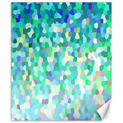 Mosaic Sparkley 1 Canvas 20  X 24  (unframed) by MedusArt