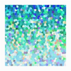 Mosaic Sparkley 1 Glasses Cloth (medium, Two Sided) by MedusArt