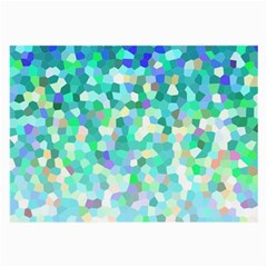 Mosaic Sparkley 1 Glasses Cloth (large) by MedusArt