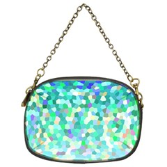 Mosaic Sparkley 1 Chain Purse (two Sided)  by MedusArt