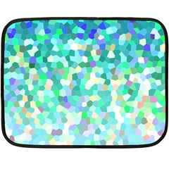 Mosaic Sparkley 1 Mini Fleece Blanket (two Sided) by MedusArt