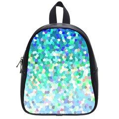 Mosaic Sparkley 1 School Bag (small) by MedusArt