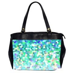 Mosaic Sparkley 1 Oversize Office Handbag (two Sides) by MedusArt