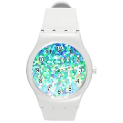 Mosaic Sparkley 1 Plastic Sport Watch (medium) by MedusArt