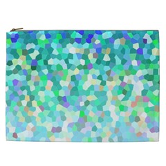 Mosaic Sparkley 1 Cosmetic Bag (xxl) by MedusArt