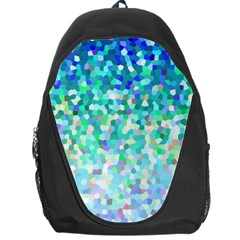 Mosaic Sparkley 1 Backpack Bag by MedusArt