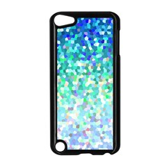 Mosaic Sparkley 1 Apple Ipod Touch 5 Case (black) by MedusArt
