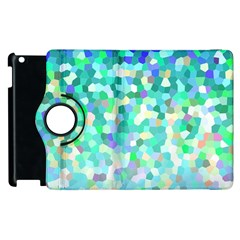 Mosaic Sparkley 1 Apple Ipad 2 Flip 360 Case by MedusArt