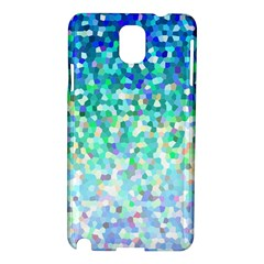 Mosaic Sparkley 1 Samsung Galaxy Note 3 N9005 Hardshell Case by MedusArt