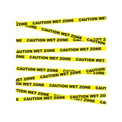 Caution Shower Curtain 60  X 72  (medium) by Contest1732468