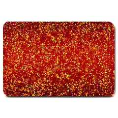 Glitter 3 Large Door Mat by MedusArt