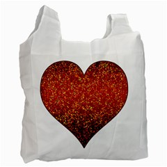 Glitter 3 Recycle Bag (one Side) by MedusArt