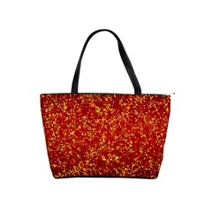 Glitter 3 Large Shoulder Bag by MedusArt