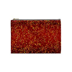 Glitter 3 Cosmetic Bag (medium) by MedusArt
