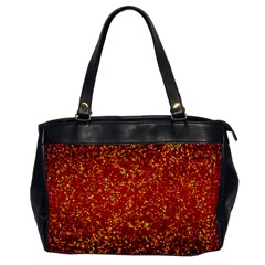 Glitter 3 Oversize Office Handbag (one Side) by MedusArt