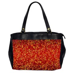 Glitter 3 Oversize Office Handbag (two Sides) by MedusArt