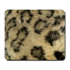 Leopard Coat2 Large Mouse Pad (rectangle) by BrilliantArtDesigns